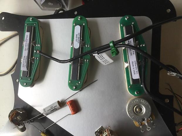 billy corgan strat upgrade wiring kit pickups pots caps reverb. Black Bedroom Furniture Sets. Home Design Ideas