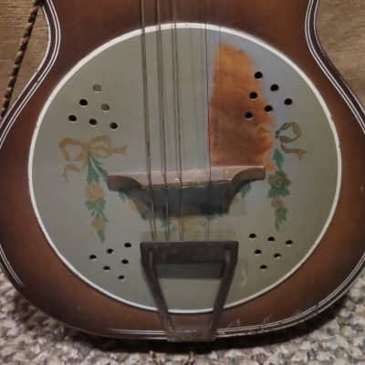 Del Oro Faux Resonator 1930s brown for sale