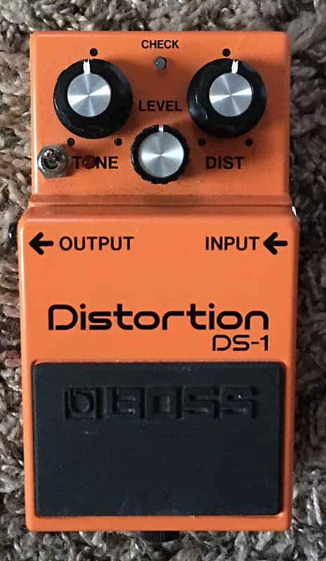 boss ds 1 distortion modified the pedal pusher reverb. Black Bedroom Furniture Sets. Home Design Ideas