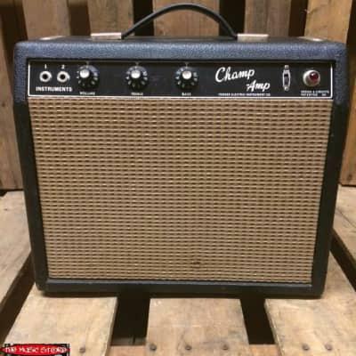 Fender Champ Amp c1965 (Early No Logo / Blackface)