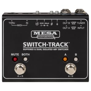 Mesa Boogie Switch-Track Buffered & Dual Isolated ABY Switcher 2018