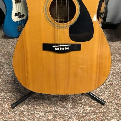 Yamaha FG-411 Natural Acoustic Guitar