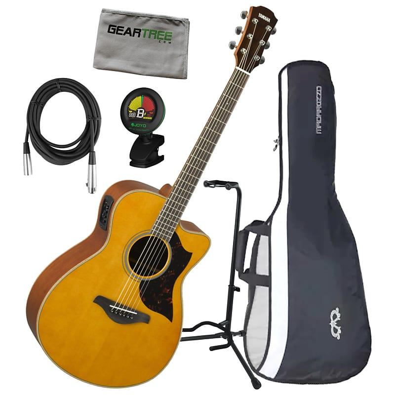e89d886865 Yamaha AC1M VN A Series Concert Size Vintage Natural Acoustic | Reverb