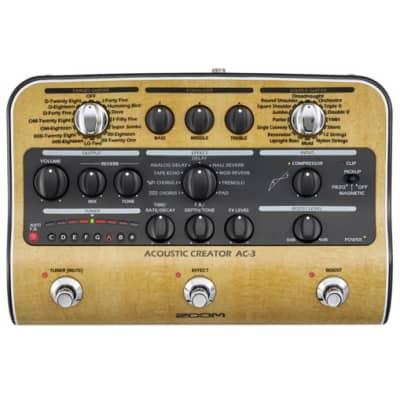 Zoom AC-3 Acoustic Creator DI/Multi-Effect