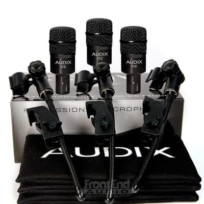 Audix D2 Trio Microphone Pack