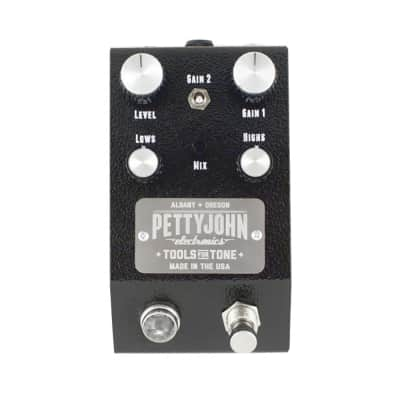 PettyJohn Fuze Distortion/Fuzz Guitar Effects Pedal Audiophile True Bypass Stomp