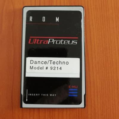 E-Mu #9214 Dance/Techno ROM card for Ultra Proteus