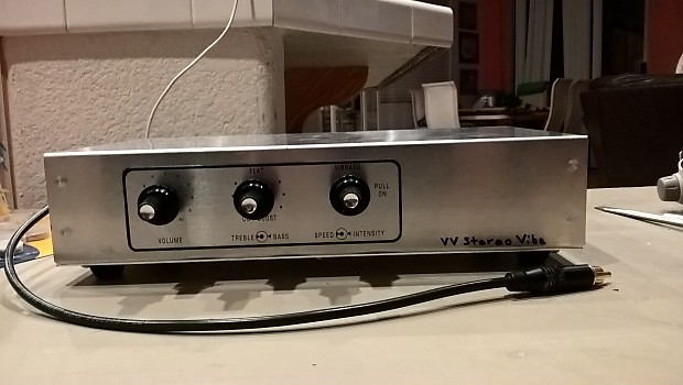 VintageVibe Fender Rhodes StereoVibe Preamp - DIY Project Box