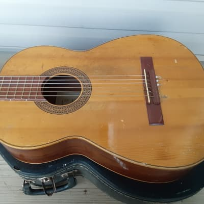Vintage Ca. 1950's Victor Garcia Classical Guitar w/ Case! Made in Spain! for sale