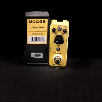 Mooer Acoustikar Acoustic Guitar Simulator Micro Pedal
