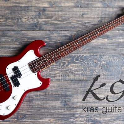 Grass Roots G-UT-46MS 2005 Candy Apple Red for sale