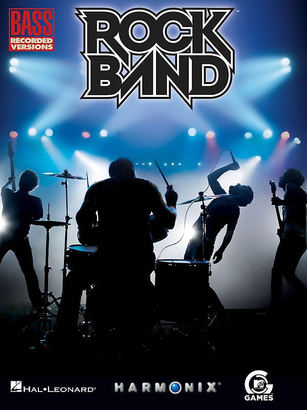 Rock Band 25 Hits From The Video Game Bass Tab