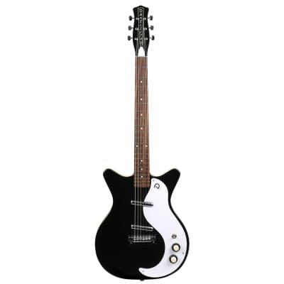 Danelectro DC59 M NOS Back to Black E-Gitarre for sale