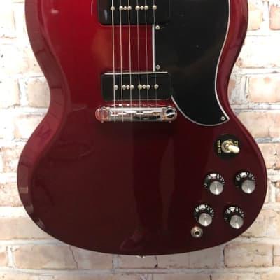 Gibson SG Special  2021 Sparkle Burgandy (S59)