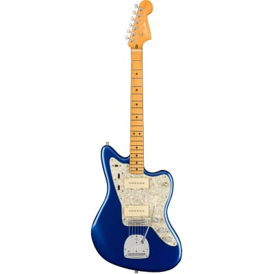 Fender American Ultra Jazzmaster Cobra Blue MN with case for sale