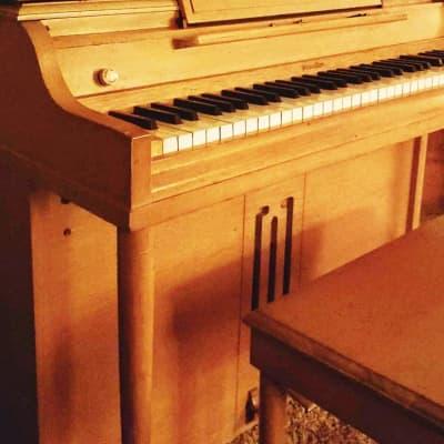 *1957* Wurlirzer 700 Electric Piano Walnut W/Bench And Music Stand