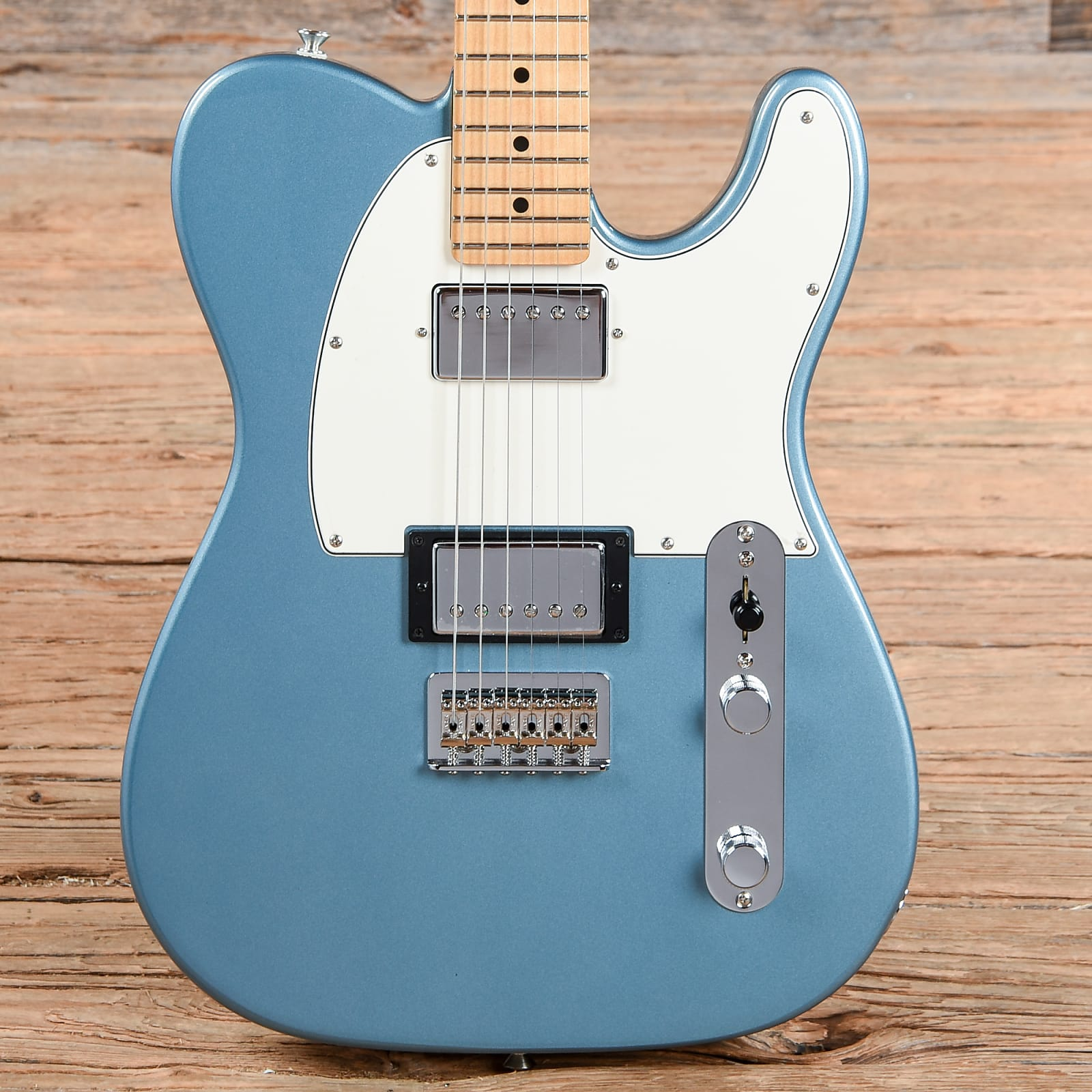 Fender Telecaster Hh >> Fender Player Telecaster Hh Tidepool Used