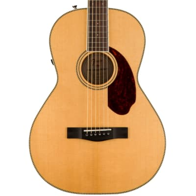 Fender PM-2 Standard Parlor Natural Acoustic Guitar with Case