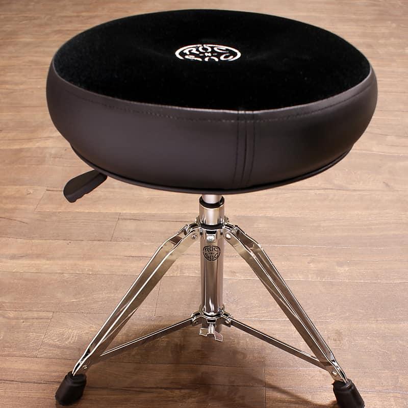 roc n soc drum throne nitro rider round black seat nr r k reverb. Black Bedroom Furniture Sets. Home Design Ideas