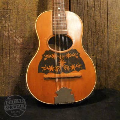 Regal circa 1900 Mandolinetto Spruce/Oak/Brazilian Rosewood for sale