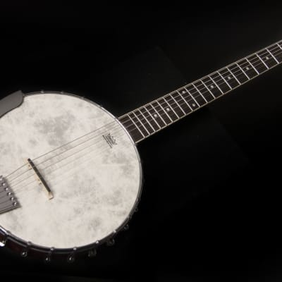 Washburn B6 Americana Series 6-String Remo Top Banjo - Open Back for sale