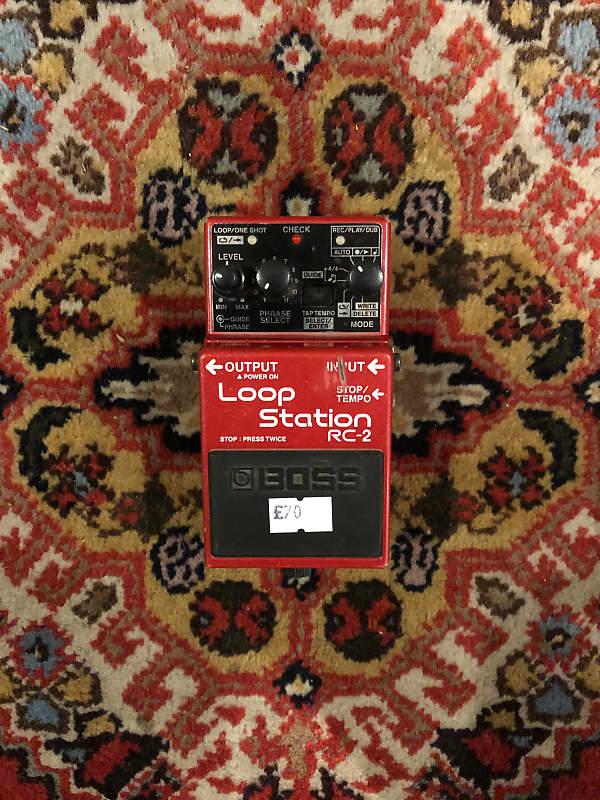 boss rc 2 loop station northern guitars reverb. Black Bedroom Furniture Sets. Home Design Ideas
