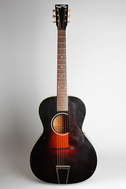 recording king model 681 flat top acoustic guitar made by reverb. Black Bedroom Furniture Sets. Home Design Ideas