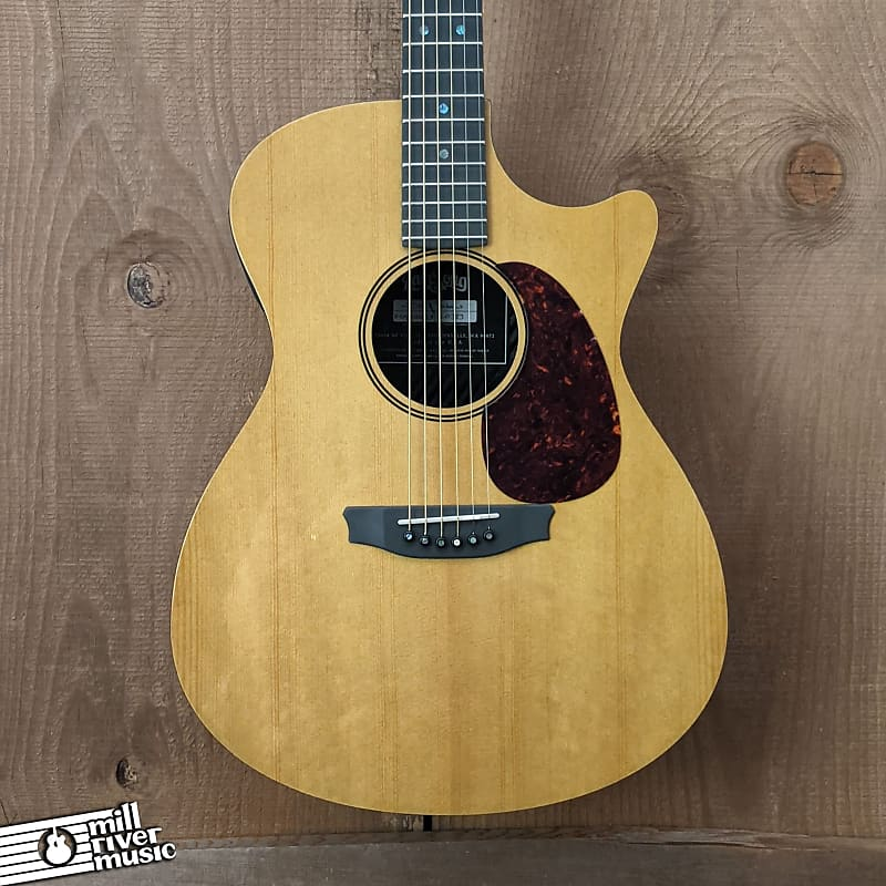 Rainsong Vintage OM Carbon-Fiber Acoustic Electric Guitar w/HSC V-OM1000N2X