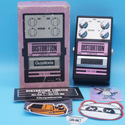 Guyatone PS-016 Distortion Limited w/Original Box | Vintage 1980s Made in Japan | Fast Shipping!