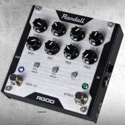 Randall RGOD 2010s Black / silver for sale