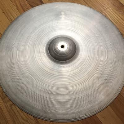 """A. Zildjian 20"""" Hollow Logo Crash Ride Cymbal 1978 - 1982"""