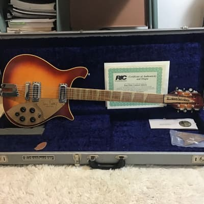 1991 Rickenbacker 660/12TP Tom Petty Signature Fireglo for sale