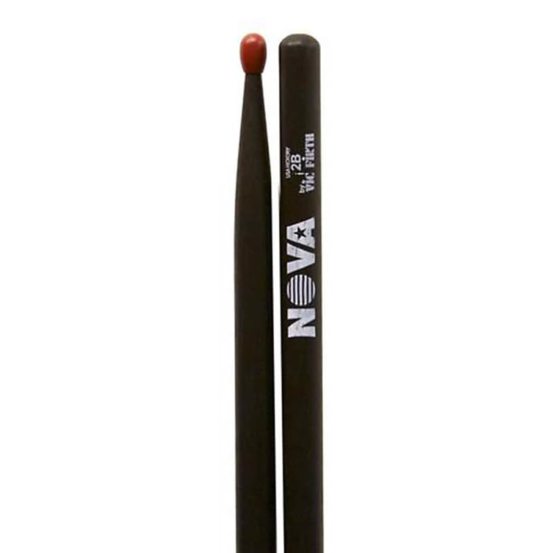 Vic Firth 2BN in black with NOVA imprint