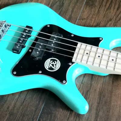 Ibanez  SRMD200K-AQG Aqua Green Mezzo Bass
