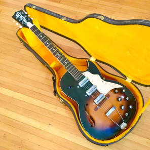 Kay Old Kraftsman truetone c 1958 Sunburst original vintage usa for sale