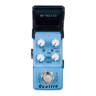 JOYO JF-318 Quattro 4 mode Modulation Delay - Guitar Effects Pedal Ironman for sale
