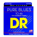 DR Strings PHR-10 Pure Blues Medium Electric Guitar Strings