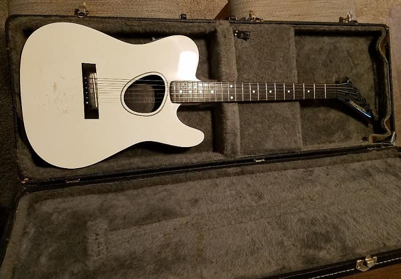 kramer ferrington acoustic electric guitar w original case reverb. Black Bedroom Furniture Sets. Home Design Ideas