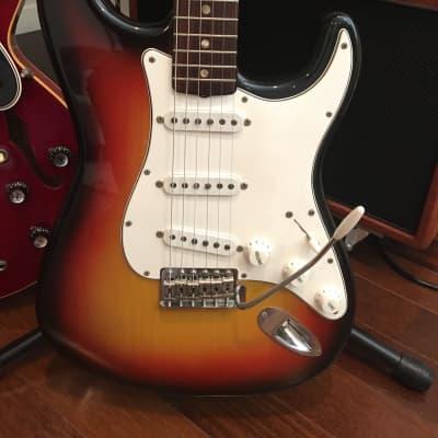 Fender Stratocaster Sunburst 1966