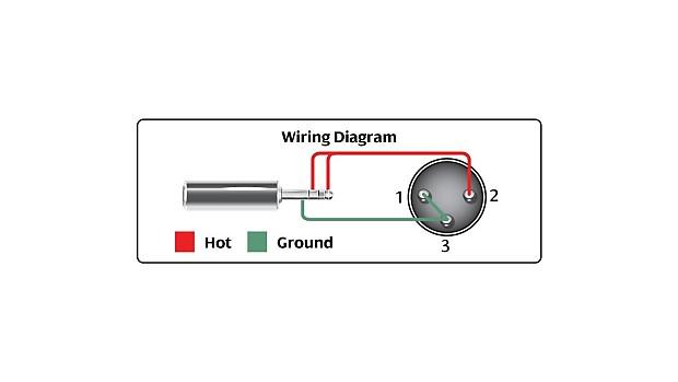 hosa 15 u0026 39  xlr3m to 3 5mm trs cable