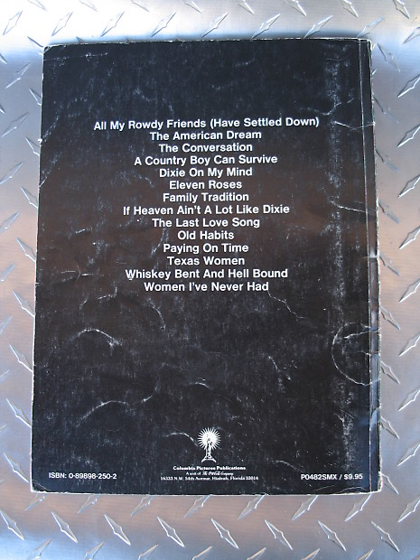 Set of 3 Country Piano/Vocal/Chords Books, Garth Brooks, Hank | Reverb