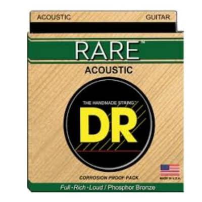 DR RPMH-13 Rare Phosphor Bronze .013 - .056 Acoustic Guitar Strings - 3 Sets!