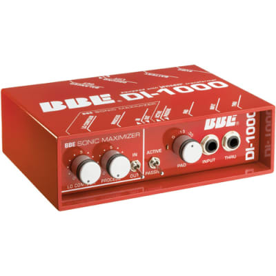 BBE DI-1000 Jensen-Equipped Direct Box with Sonic Maximizer