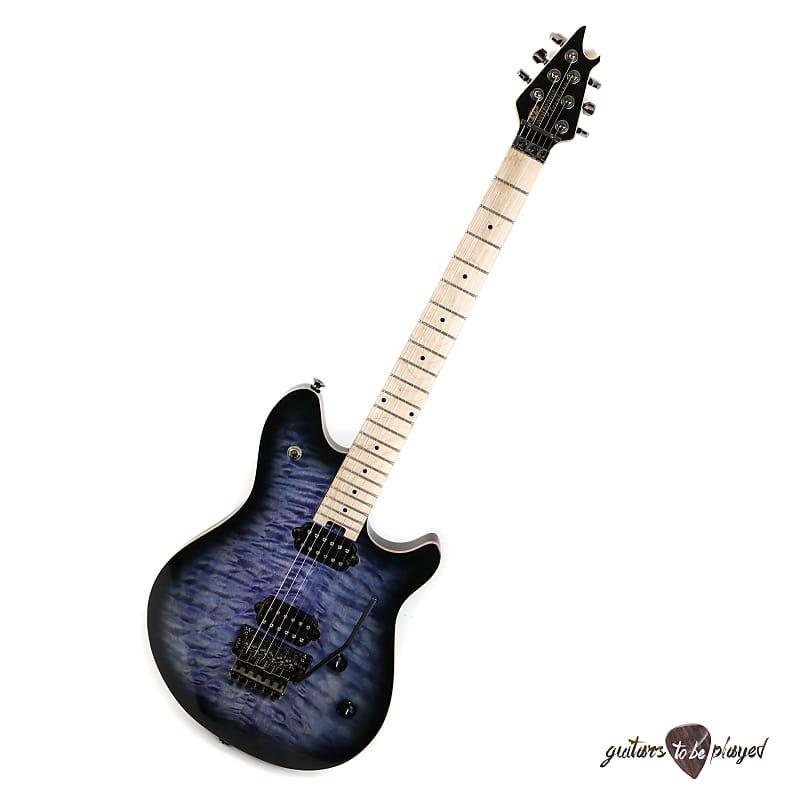 Wolfgang WG Standard QM Quilt Maple Electric Guitar – Transparent Blue Burst image