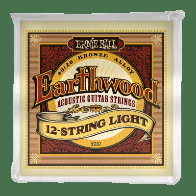 Ernie Ball Earthwood Light 12-String 80/20 Bronze Acoustic Guitar Strings