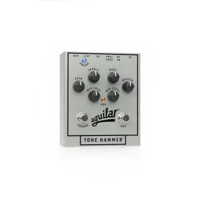 Aguilar 25th Anniversary Tone Hammer Bass Direct Box - Limited Edition Silver for sale