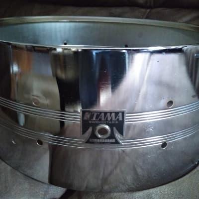 "TAMA  Swingstar Drum Shell 14"" x 6.5"" Chrome on Steel"