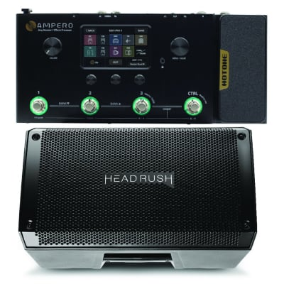 Hotone Ampero Pedalboard and Headrush FRFR108 Bundle PREORDER. Ships in Mid July for sale