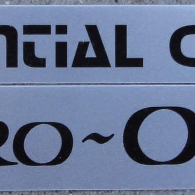 Sequential Circuits Pro-One - badge set - New
