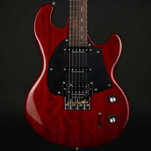 Shergold SM02-SD Masquerader PJE SSH in Thru Cherry for sale